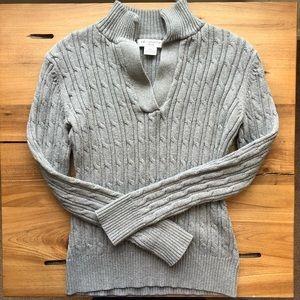 Liz Claiborne 100% Cotton Cable knit Sweater